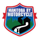 Manitoba by Motorcycle Town Staue Patch
