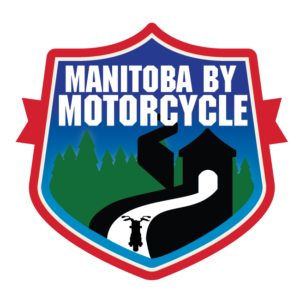 Manitoba by Motorcycle Town Statue Patch