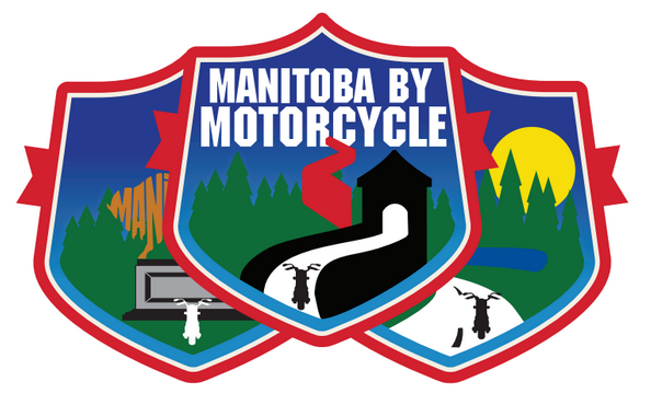Manitoba by Motorcycle Decal