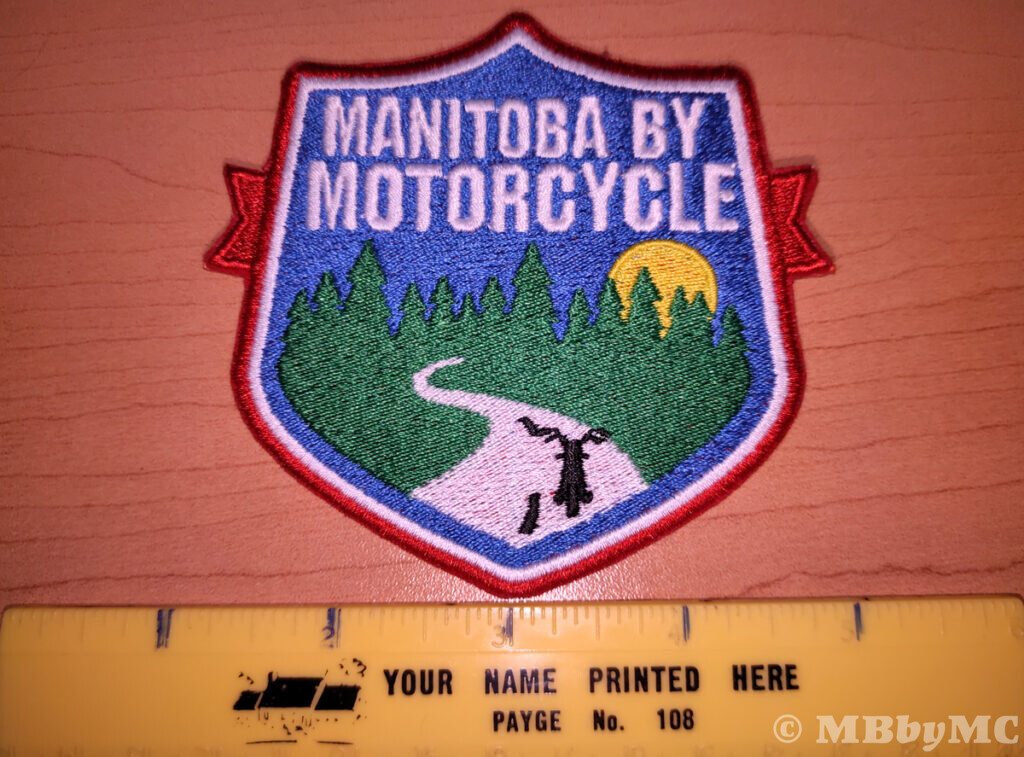 Manitoba by Motorcycle Parks Patch Size