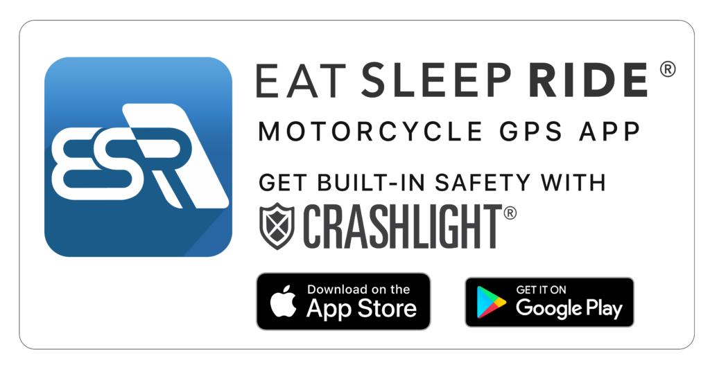 Eat Sleep Ride - motorcycle GPS