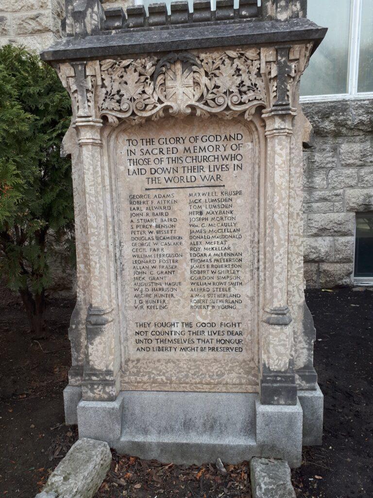 Augustine War Memorial