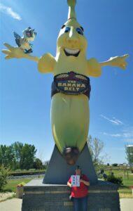 Sunny the Banana and Breezy the Bluejay